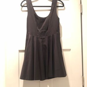 Free People Dresses - Black Free People Party Dress With Deep V Back